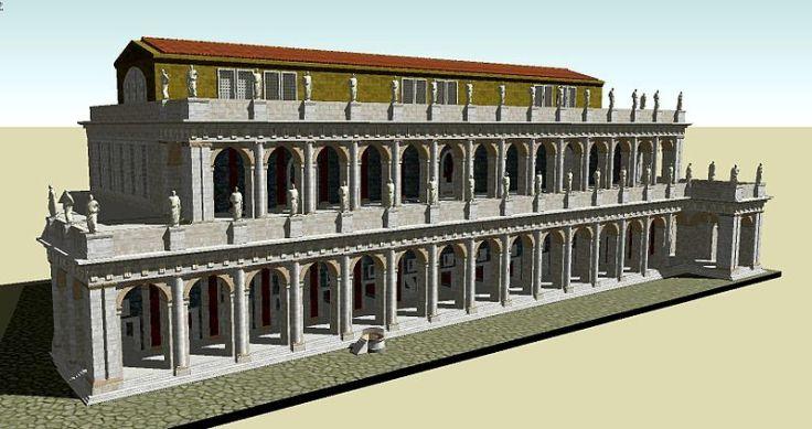 800px-Basilica_Aemilia_3D