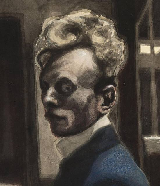 Spilliaert,_Autoportrait